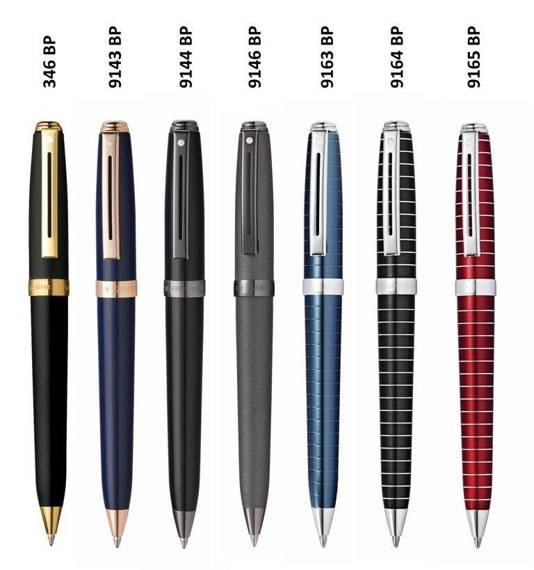 9165 BP Długopis Sheaffer Prelude, czerwony, wykończenia chromowane
