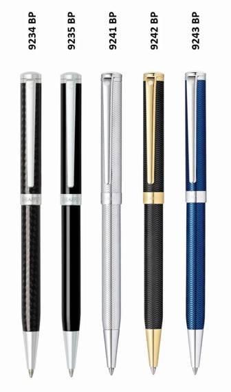 9242 BP Długopis Sheaffer Intensity, czarny, wykończenia w kolorze złotym