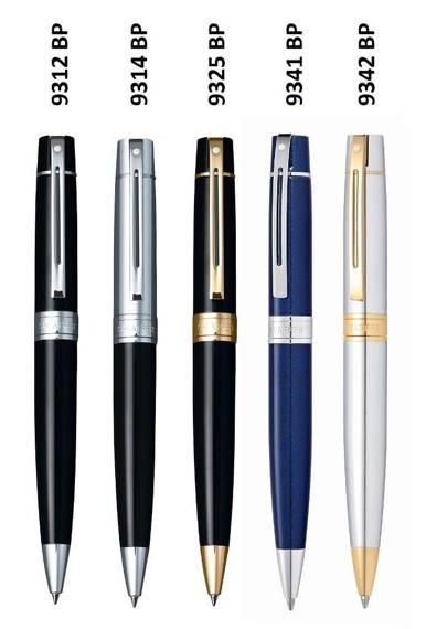 9312 BP Długopis Sheaffer kolekcja 300, czarny, wykończenia chromowane