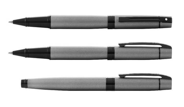 9345 Pióro kulkowe Sheaffer kolekcja 300, czarne, elementy czarne