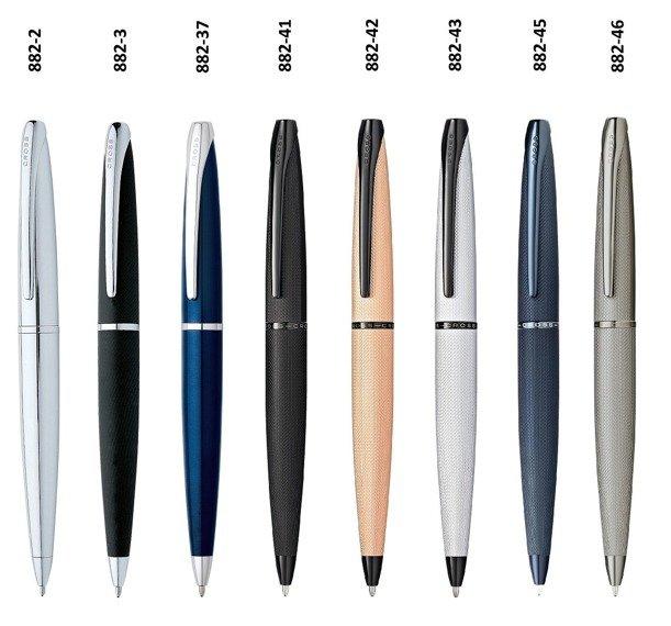 Długopis Cross ATX czarny, elementy czarne