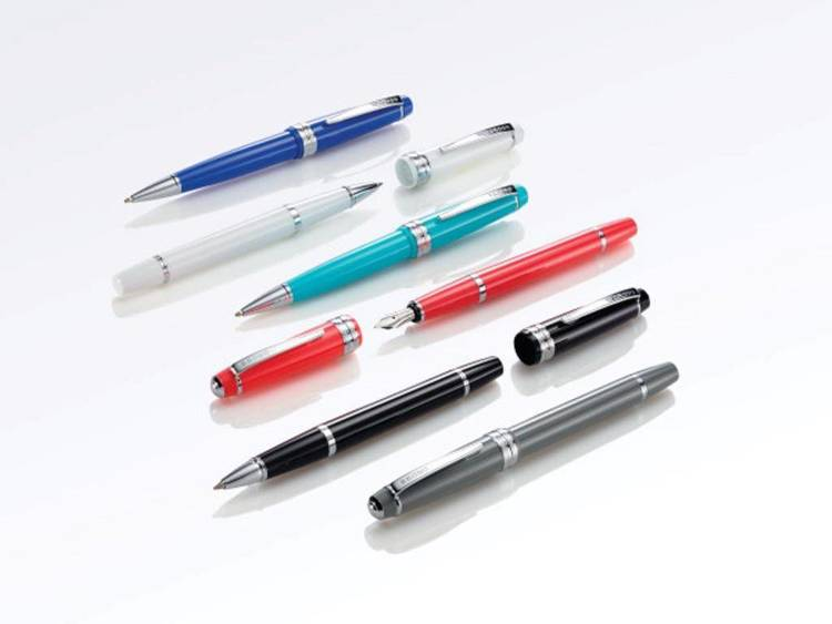 Długopis Cross Bailey Light koralowy, elementy chromowane