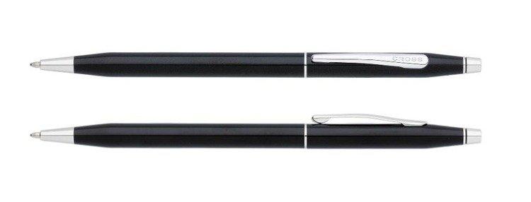 Długopis Cross Classic Century czarny, elementy chromowane
