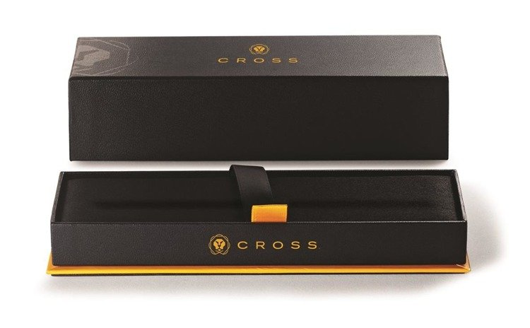 Długopis ze stylusem Cross Tech2 chrom, elementy czarne
