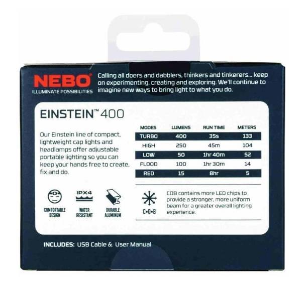 NEBO Latarka-czołówka Einstein 400 lumenów