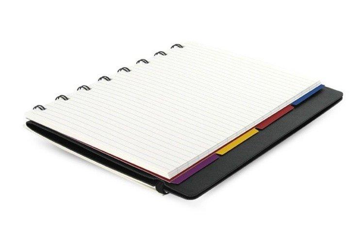Notebook fILOFAX CLASSIC A5 blok w linie, czarny