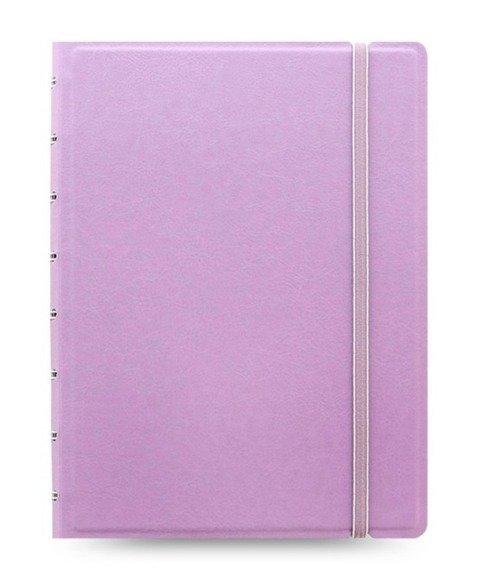 Notebook fILOFAX CLASSIC Pastels A5 blok w linie, pastelowy liliowy