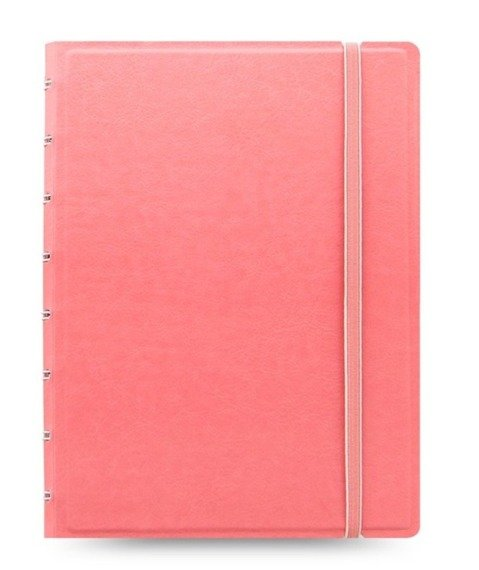 Notebook fILOFAX CLASSIC Pastels A5 blok w linie, pastelowy różowy