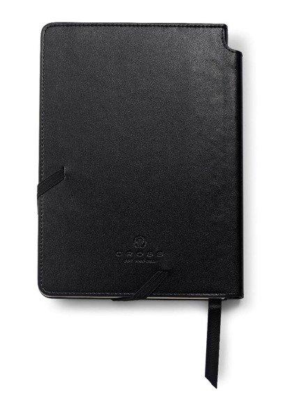 Notes Cross Journals czarny średni, A5, blok w linie