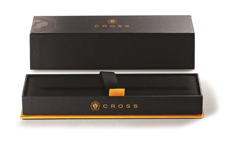 Pióro kulkowe Cross ATX w kolorze różowego złota, elementy czarne