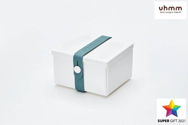 Uhmm Box 02 pudełko na żywność, białe